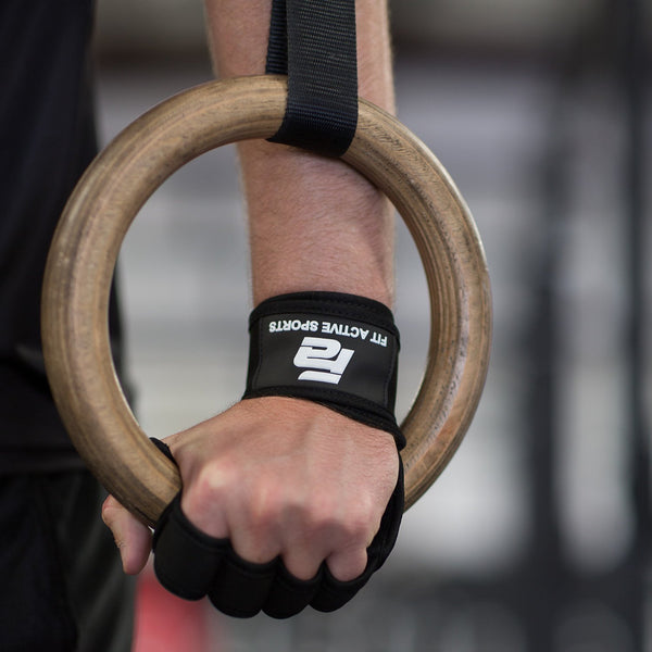 New Ventilated Weight Lifting Gloves with Built-In Wrist Wraps