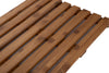 "Luxury Shower Bath Mat, Anti-Slip Mat, Environment Friendly Bamboo, 25"" L x 15"" W, Brown"