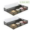 Mesh Drawer Organizer With 6 Compartments, Pack of 2