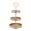 3 Tier Stand, Party Display, Cupcake Stand, Dessert Display, Silver