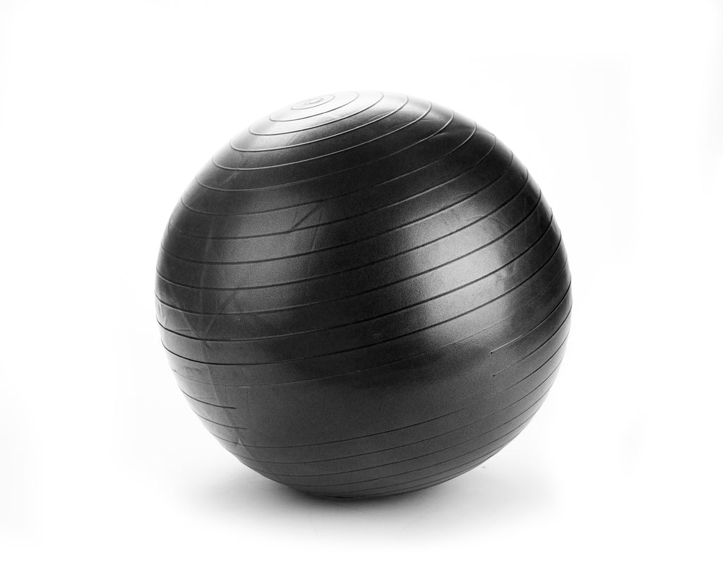 Mind Reader Heavy Duty Exercise Yoga Ball with Pump Included, Multiple Sizes and Colors