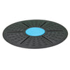 Circular Wobble Balance Board Stability Exercise Core Trainer Disc, Black/Blue
