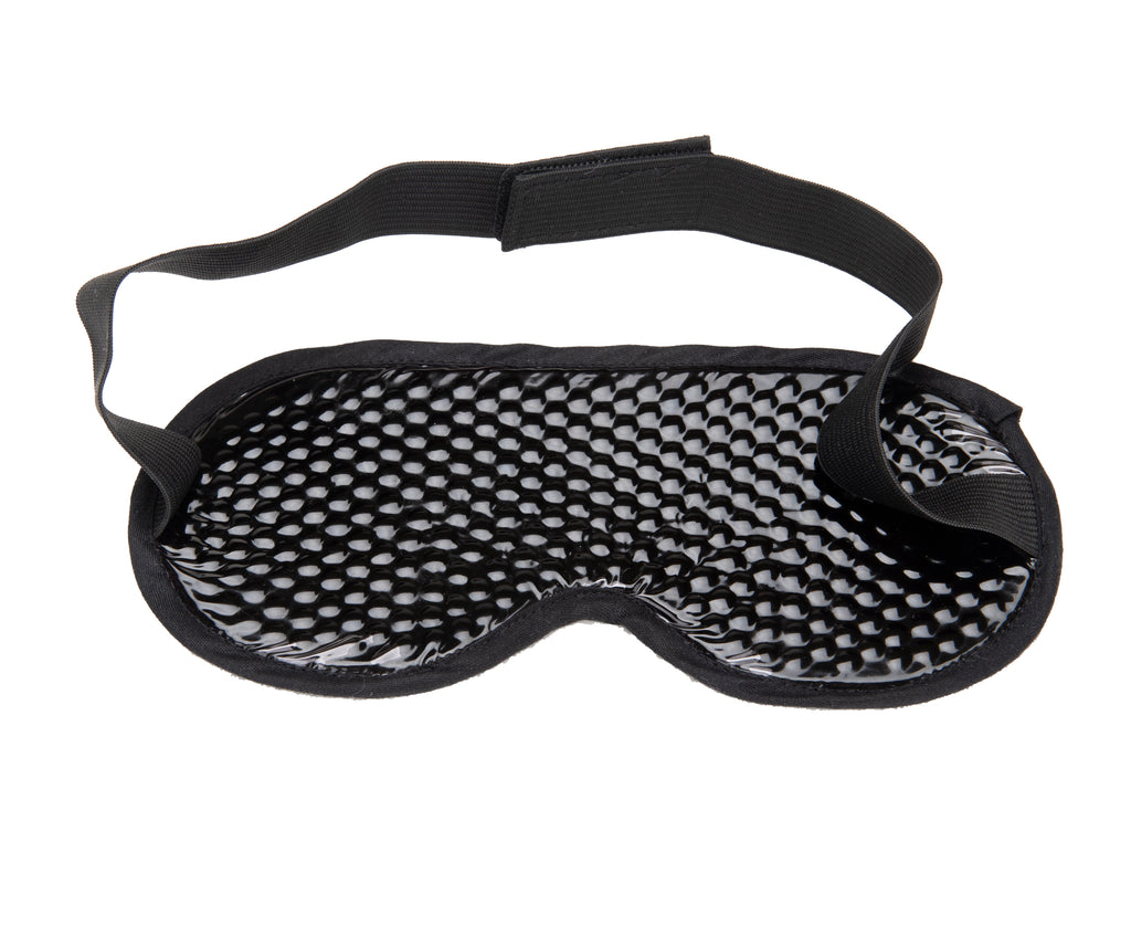 Mind Reader Cool Gel Eye Mask, Black
