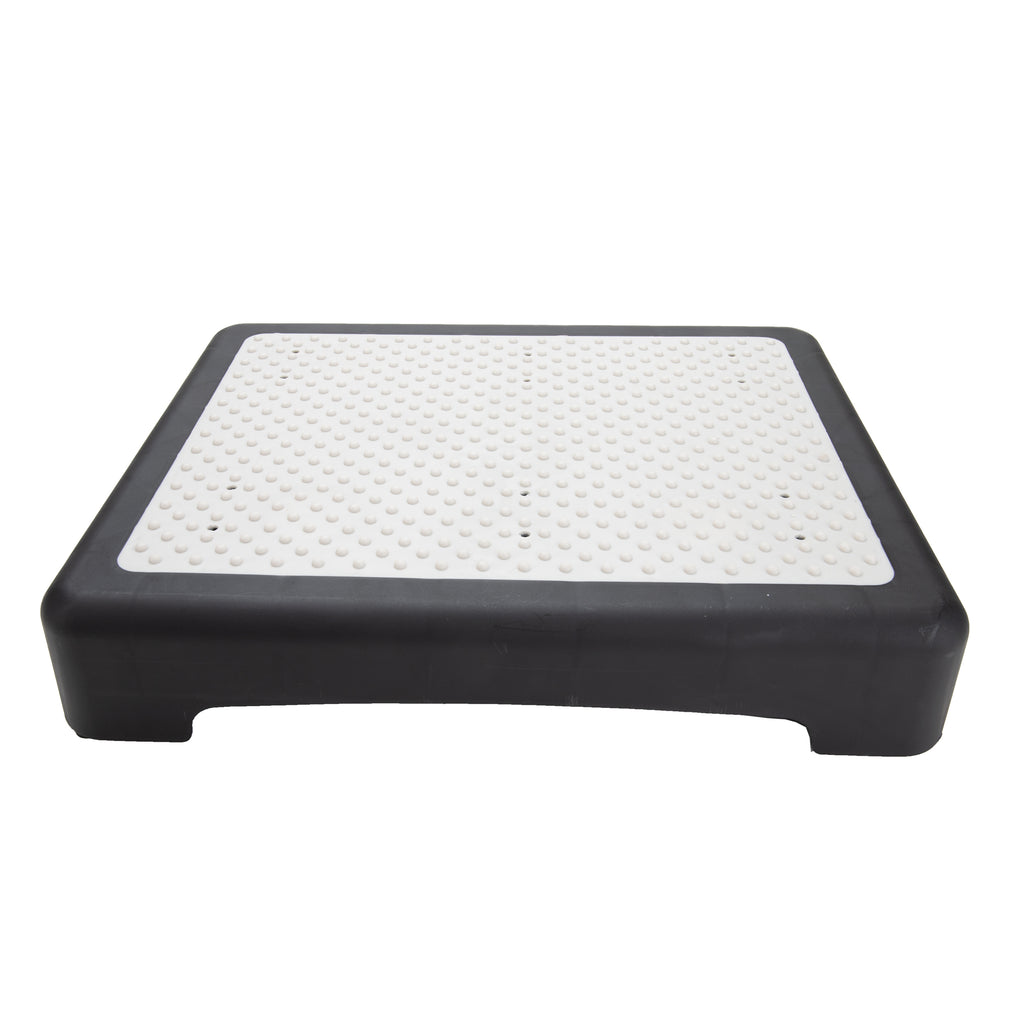 Senior Mobility Indoor/Outdoor Plastic Step Stool, Black