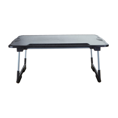 Adjustable, Foldable Laptop Table, Black