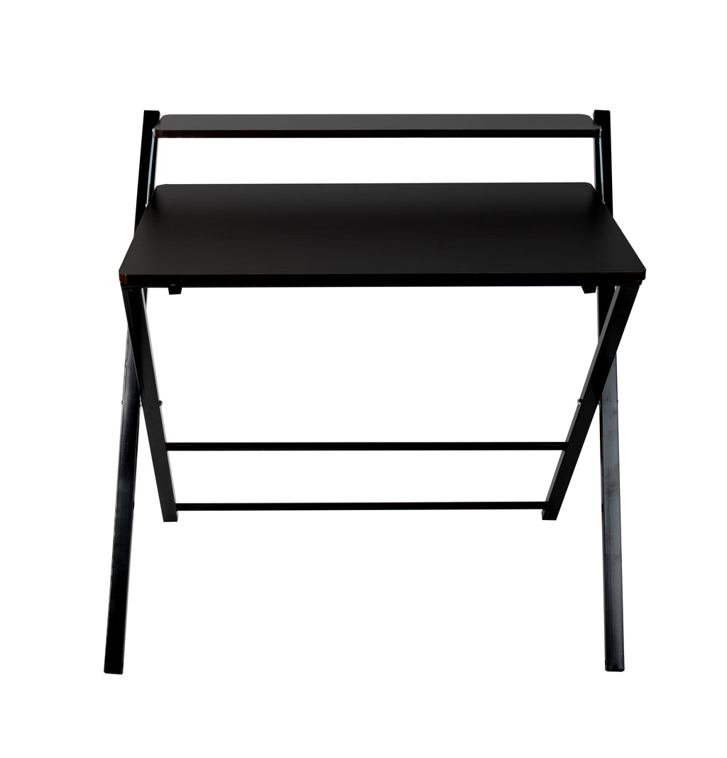 2 Tier Portable Laptop Desk for Home Office, Black