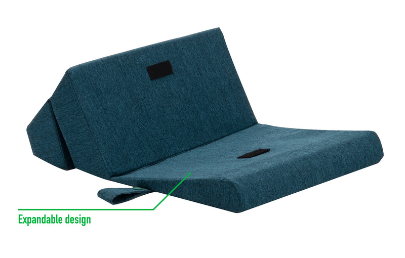 Cushioned Tablet Stand, Folding Lap Desk for Mobile Devices, Books, Homework, Adjustable Angle Knee Pillow