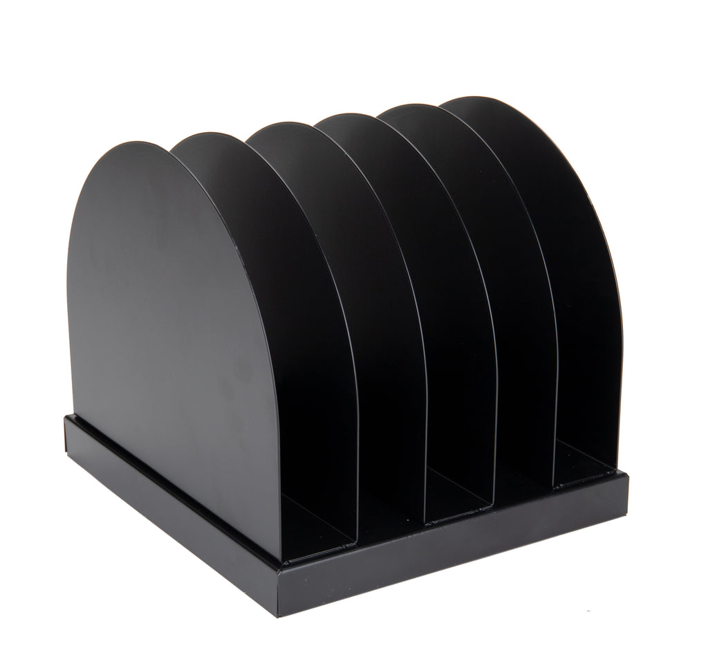 Mind Reader 5-Section Metal File Organizer