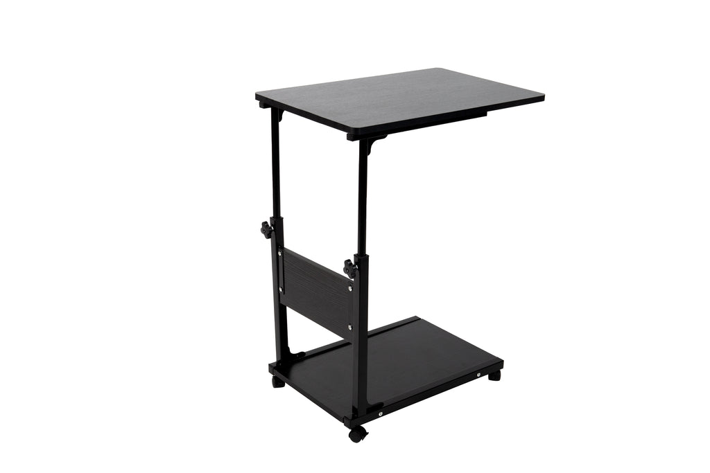 Mind Reader Adjustable Height Laptop Desk,Black