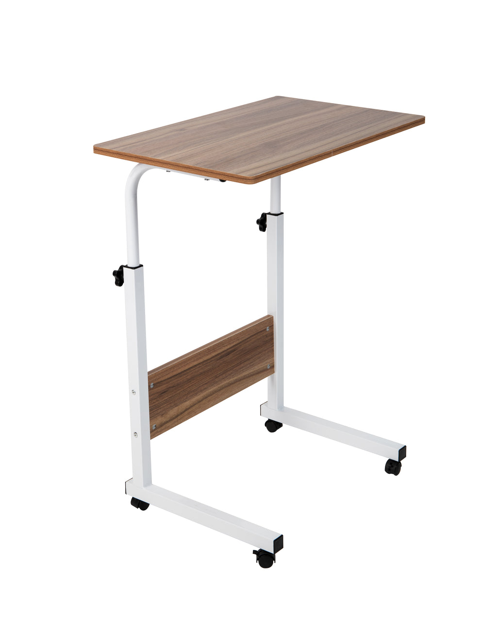 Mind Reader Adjustable Height Rolling Desk, 2 Sizes