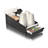 Single Serve Coffee Pod Drawer and Holder [18 Capacity] Coffee Station and Pod Capsule Storage Organizer, Pull Out Tray for Condiments, Coffee Machines and Accessories, 1-Pack (BLACK)