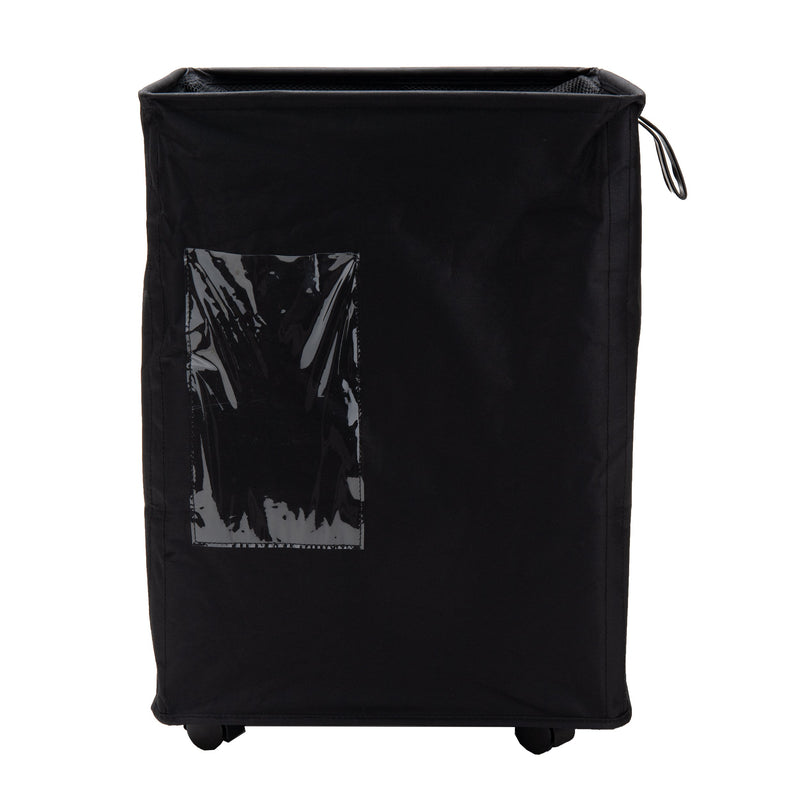 65 Liter Fabric Rolling Laundry Hamper