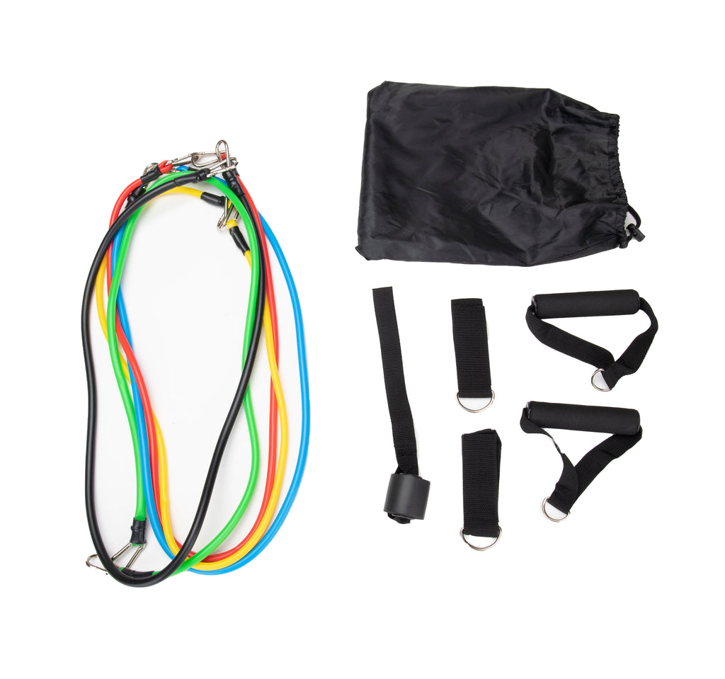 Resistance Band Set (11 pcs), Multicolor