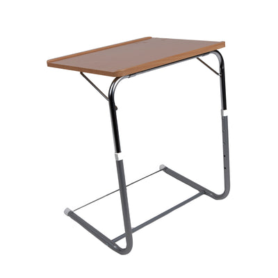 "Fully Adjustable Folding Desk, 20""-29"" Height, Brown"