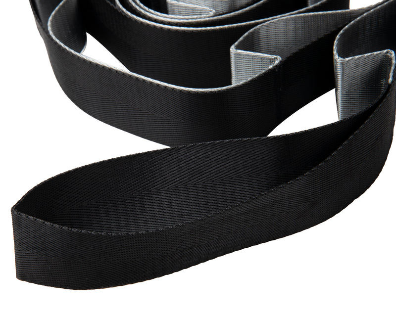 Stretching Strap, Flexibility Loop Band for Home Fitness 97″ Black