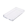 Acrylic Napkin Holder Tray, Flat Napkin Storage Organizer, Counter Top Clear Napkin Holder, Kitchen, Brunch, Picnics, Clear