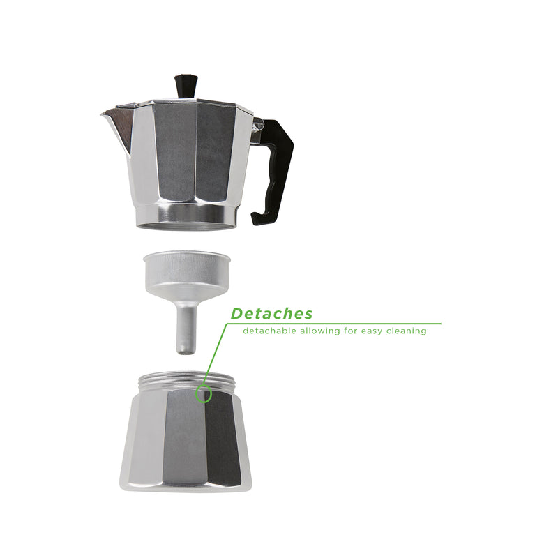 Mind Reader Stove Top Espresso Maker, Coffee Maker
