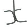 4 Piece Stand Alone Steel Fire Place Set with Brush, Poker, Tongs, Shovel/Scooper