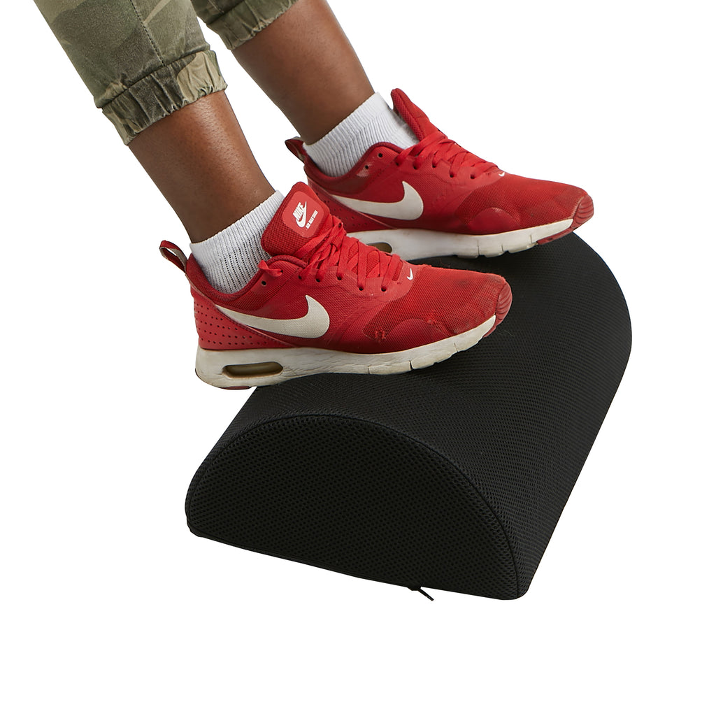 Mind Reader Ergonomic Foot Rest with Memory Foam Cushion