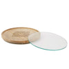 Round Cheese Platter, Serving Tray, Butler Tray