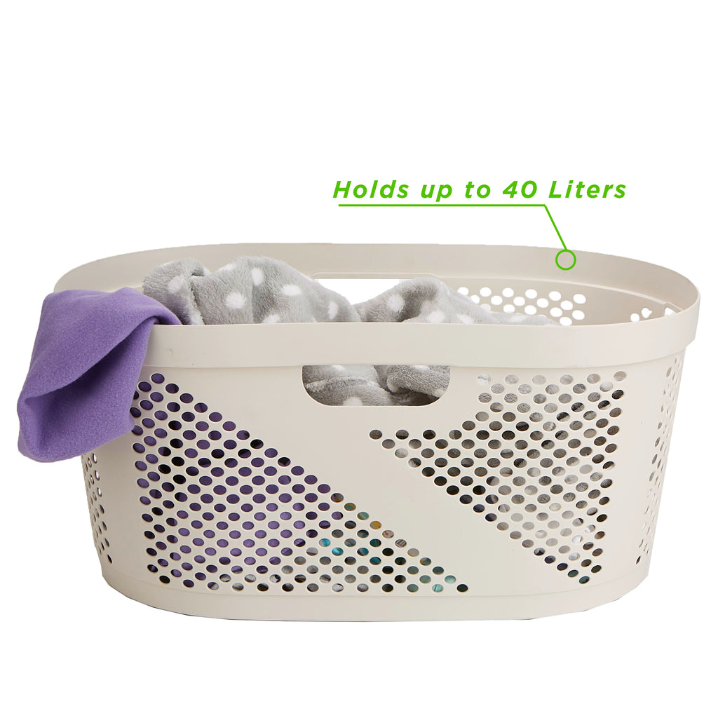 Mind Reader Laundry Basket Hamper For Bathroom, Bedroom