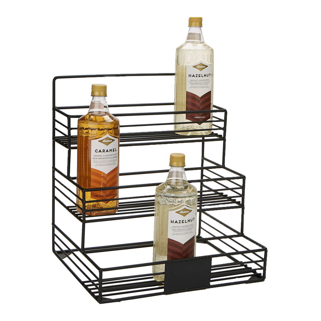 Mind Reader Syrup 12 Bottle Holder Organizer, Storage for Wine, Dressing