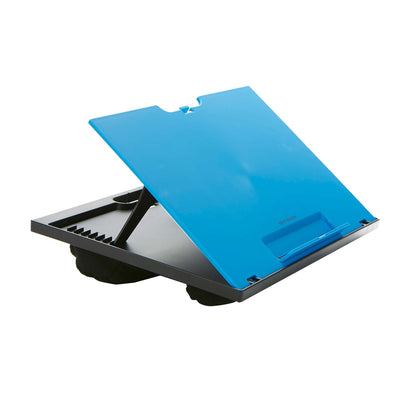 Mind Reader Adjustable 8-Position Lap Desk with Cushions, Multiple Colors