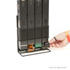 Nespresso Coffee Pod Storage, Holds 4 Nespresso Boxes, Metal Mesh, Black
