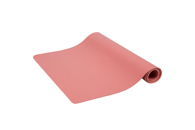 Office Desk Pad, Large Mousepad, Desk Protector, Non Slip Desk Mat, Desk Blotter, Gaming Mouse Pad, Pink, 16 x 32 in.