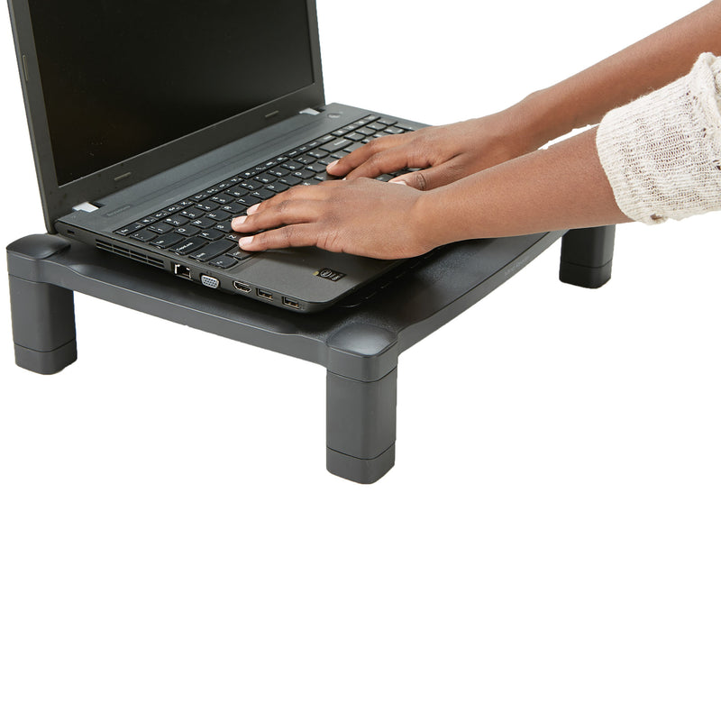 Adjustable Plastic Monitor/Laptop Stand