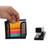 2 Pack Post-it Memo Holder, Metal Mesh Sticky Note Holder, Designed to work with Post-It Pop-Up Notes, Office, 4 in x 4 in, Black
