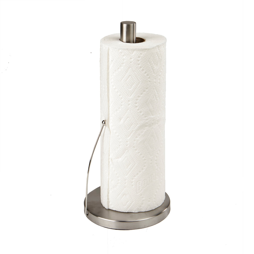Paper Towel Holder, Counter Top Easy Tear Kitchen Paper Towel Dispenser