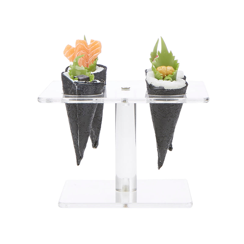 Acrylic Food Cone Display Holder with 4-Slots