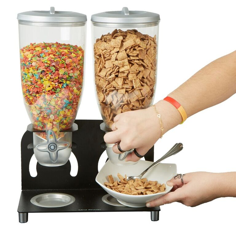 Mind Reader Heavy Duty Metal Cereal Dispenser