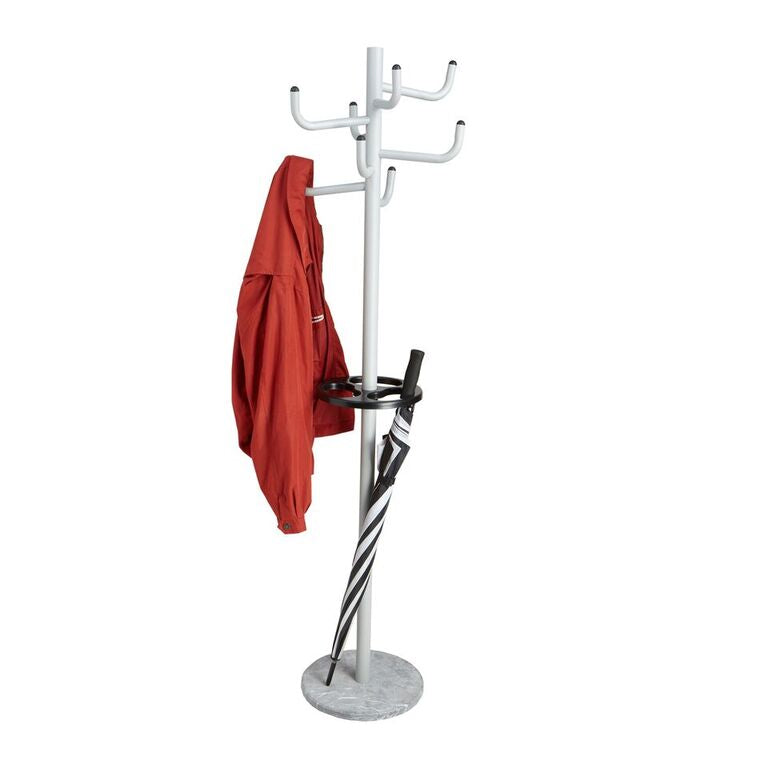 Mind Reader Free Standing 8 Hook Metal Coat