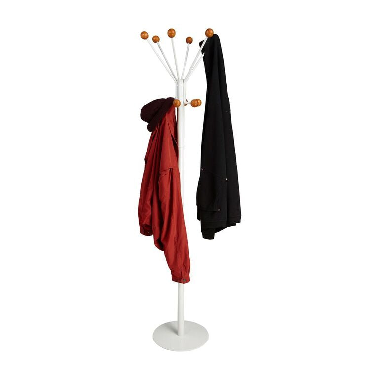 Mind Reader Standing Coat Rack Hat Hanger