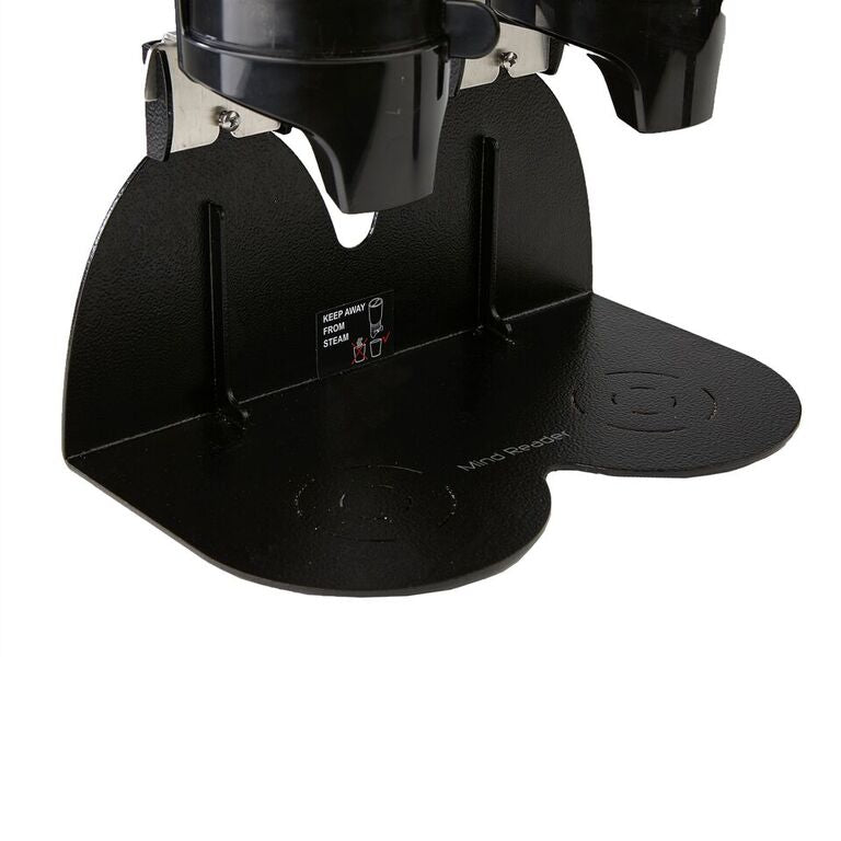 Mind Reader Metal Single Standing Base with Coffee, Sugar Dispenser