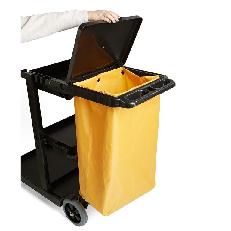 Mind Reader Commercial Heavy Duty Janitorial Utility Cart