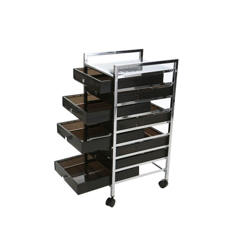 Mind Reader All Purpose Quality Storage Drawer Rolling Utility Cart, 8 Drawer Organizer