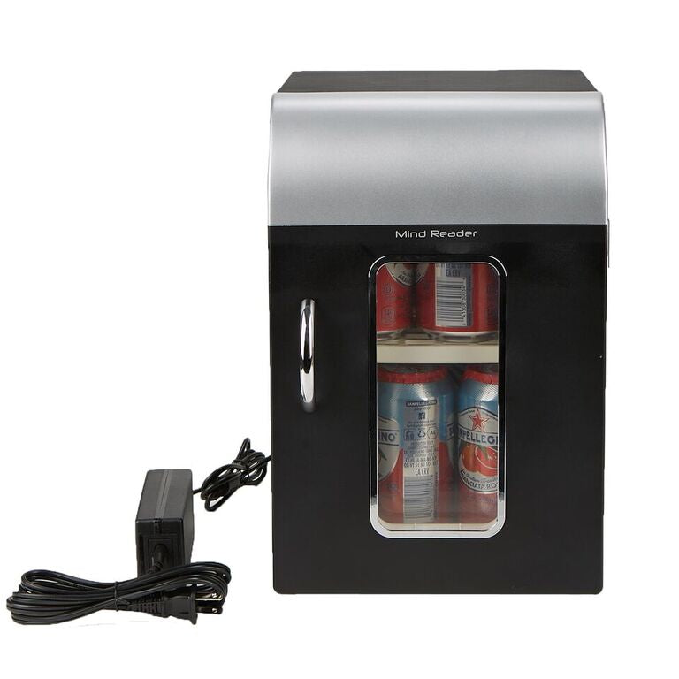Mind Reader Cube Mini Coffee Station Refrigerator