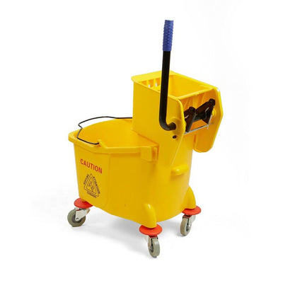 Mind Reader 36 Liter Heavy Duty Mop Wringer Trolley
