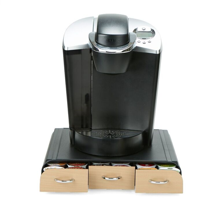 36 Capacity 'Anchor' Triple Drawer Single Serve Coffee Pod Holder, Multiple Colors