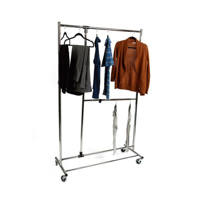 Mind Reader Heavy Duty Multi Pole Garment Rack