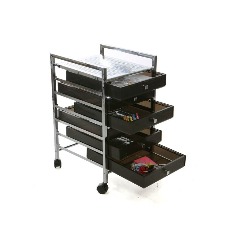 Mind Reader Rolling Storage Cart and Organizer