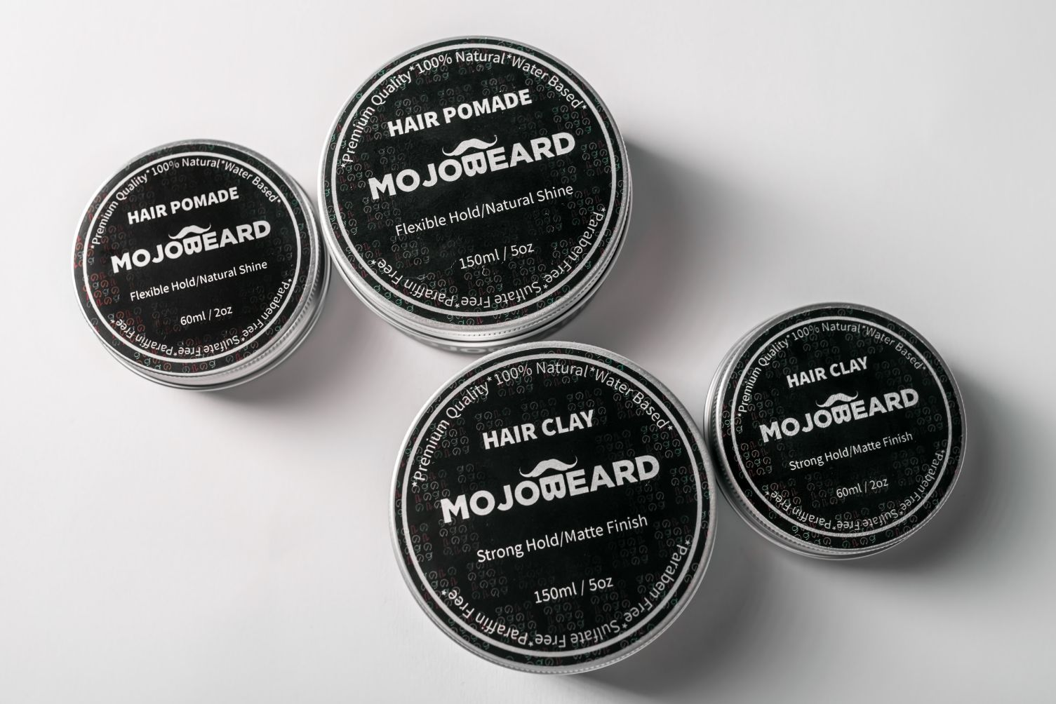 Mojo Beard Clay Pomade