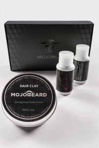 MOJO Hair Care Travel Set Clay- Lounge