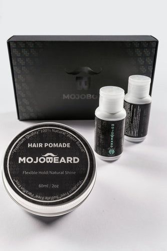 MOJO Hair Care Travel Set Pomade- Wood