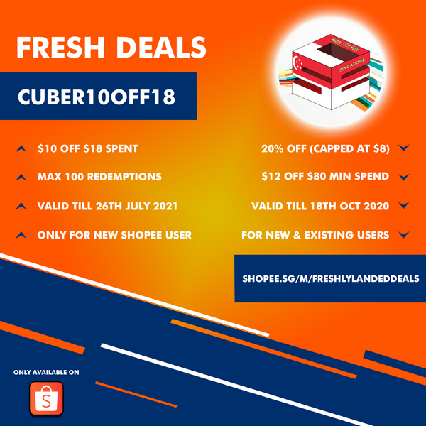 cuberspace shopee promotion fresh deal offer