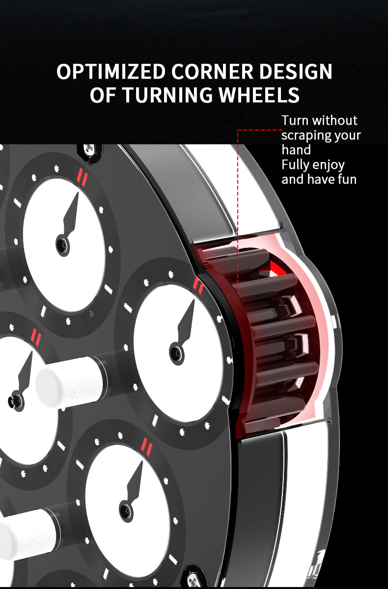 qiyi magnetic clock turning wheel design