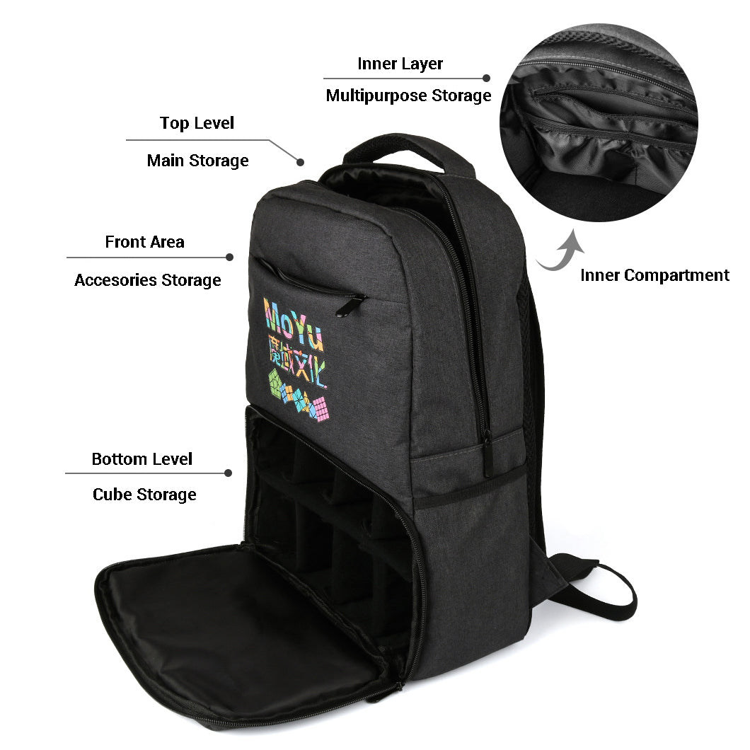 MoYu Backpack - CuberSpace - Speedcube - Singapore